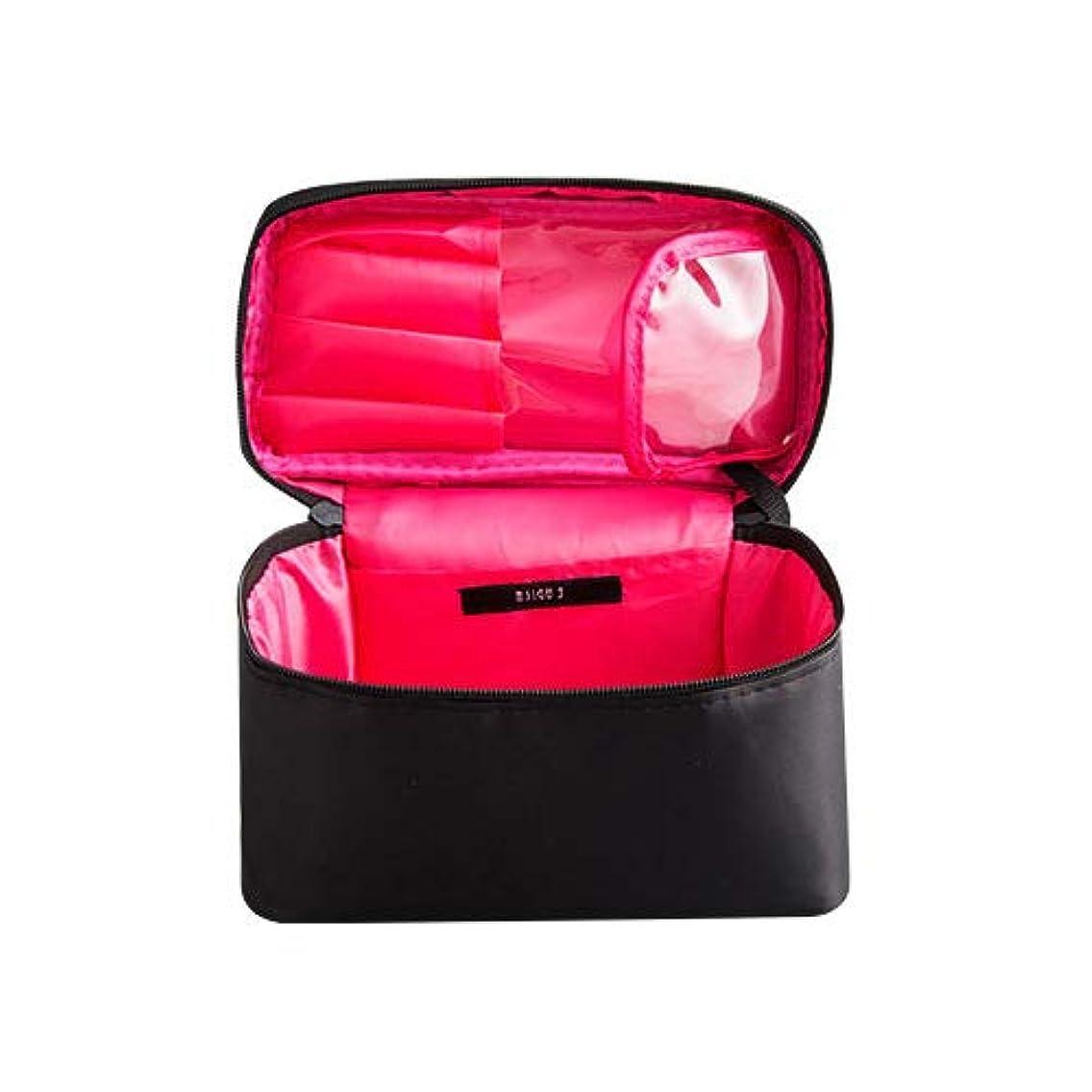 思われる日付平凡メイクボックス プロ用 化粧バッグ 化粧箱 大容量 普段使い 出張 旅行 トラベルポーチ