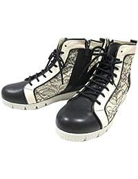 【履くほどに愛着が湧く、手放せない1足になりそう。】[フィズリーン] FIZZ REEN 1613 レディース チュール レースアップ 通勤靴 トラベルシューズ フラット ブラック?ホワイト