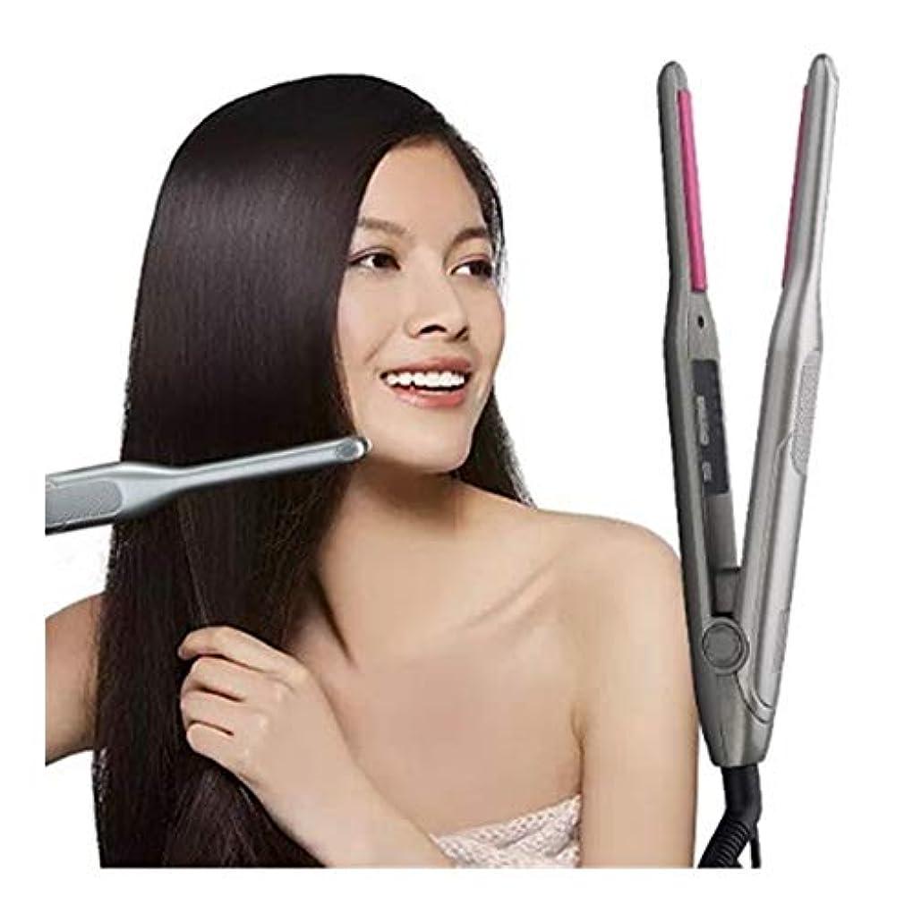 現実には洗剤件名CQQ ストレートヘアアイロントルマリンセラミックヘアスタイリングアイアン毛フラットアイアンボードトリートメント暖房プレートストレートヘアアイロン
