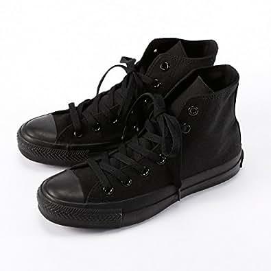 コンバース(Converse) 定番ハイカットキャンバススニーカー(オールスターHI)25.0~30.0cm【ブラックモノクローム/30.0】