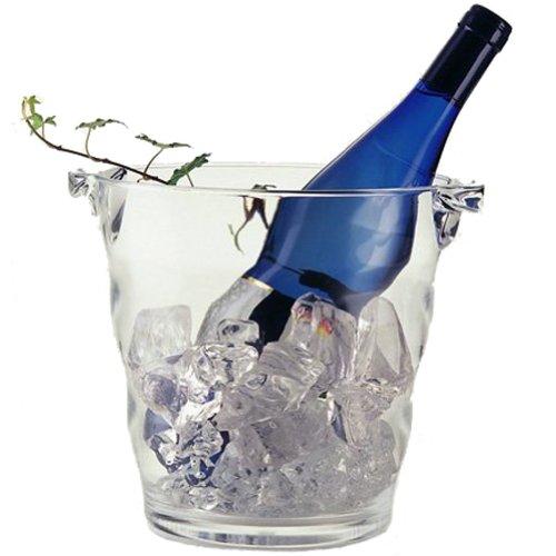 SALUS アクリル ワインクーラー ウェーブ