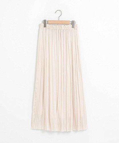 (ペルルペッシュ) Perle Peche ヴィンテージサテンプリーツスカート