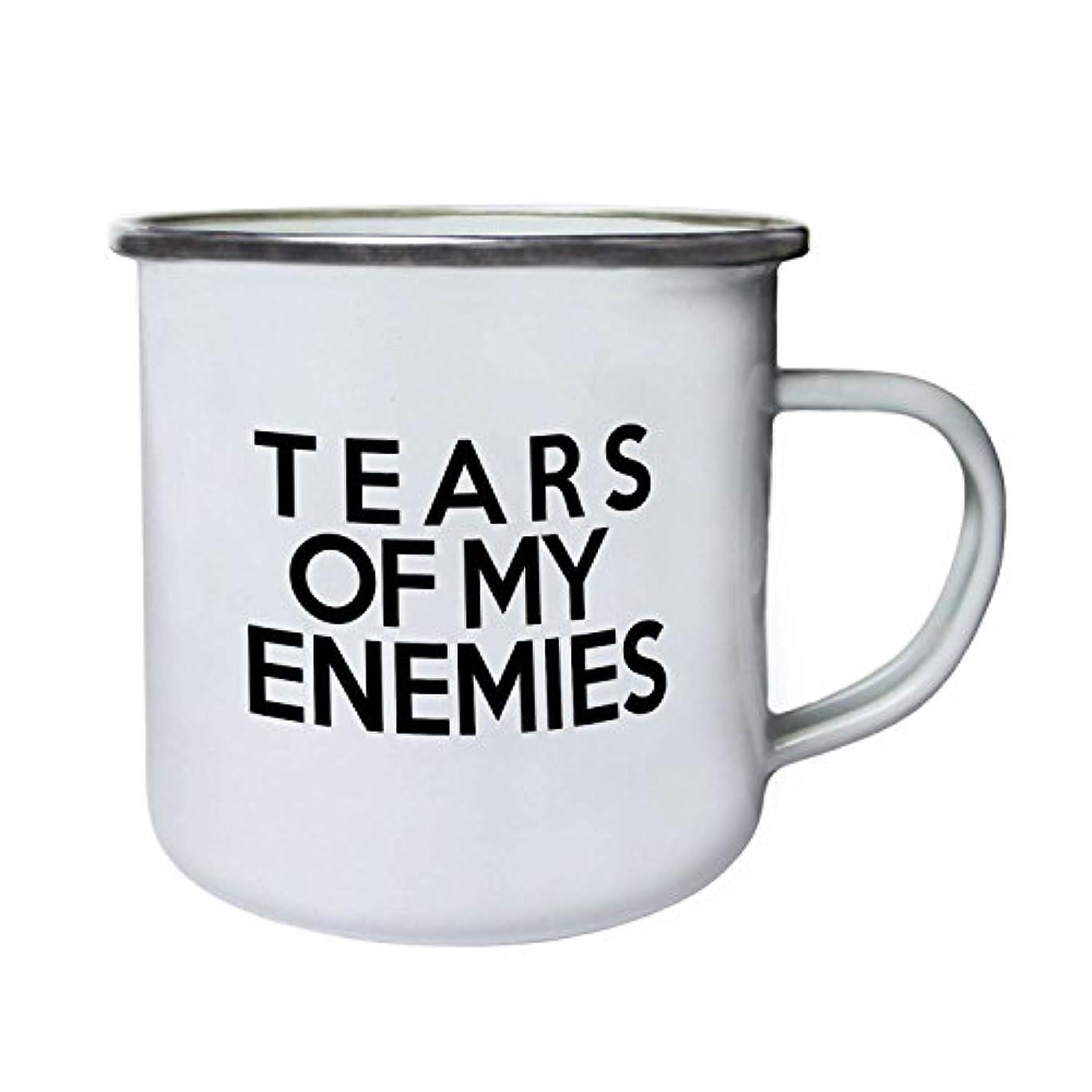 ペルメルラウンジ根絶する私の敵の涙Perfectギフトノベルティ新しいレトロ、Tin、エナメル10ozマグb50e