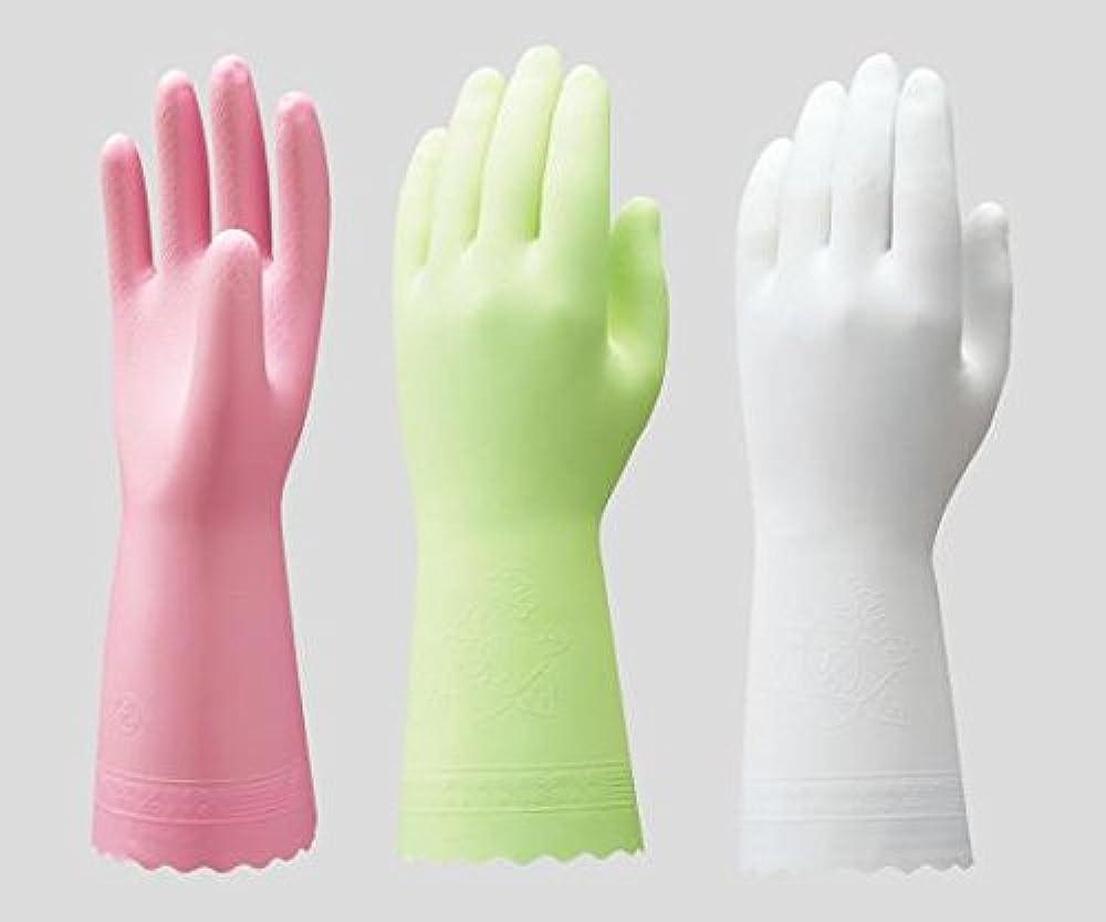 崇拝します債権者増幅ショーワグローブ2-9143-05ビニトップ手袋薄手裏毛無ホワイトL