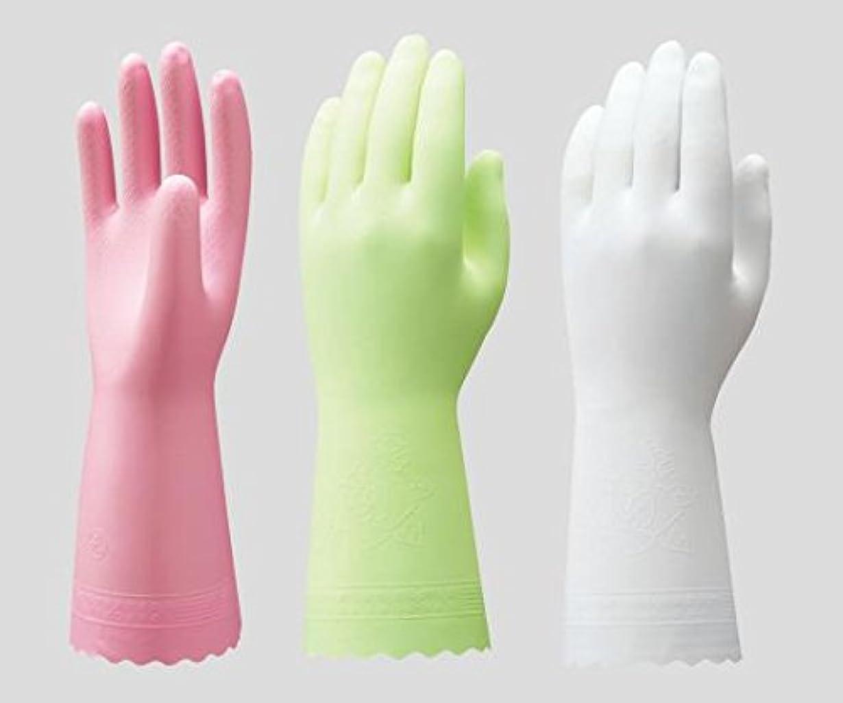 資本主義気がついて必需品ショーワグローブ2-9143-01ビニトップ手袋薄手裏毛無ホワイトS