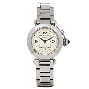 (カルティエ) Cartier カルティエ 時計 レディース CARTIER W3140007 ミスパシャ SS SI 腕時計 ウォッチ シルバー/ホワイト [並行輸入品]