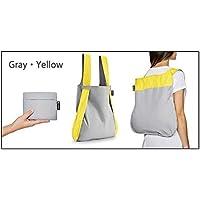 notabag ノットアバッグ BAG&BACKPACK バッグ&バックパック NTB002 Gray・Yellow【人気 おすすめ 】