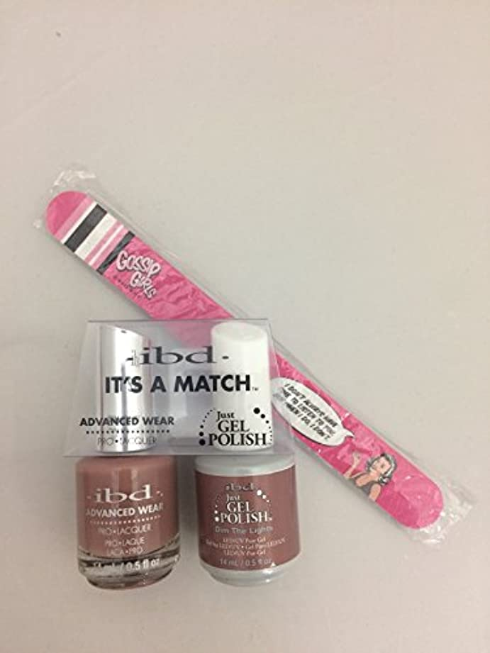気分が悪い役割変化するibd - It's A Match -Duo Pack- Nude Collection - Dim the Lights - 14 mL / 0.5 oz Each