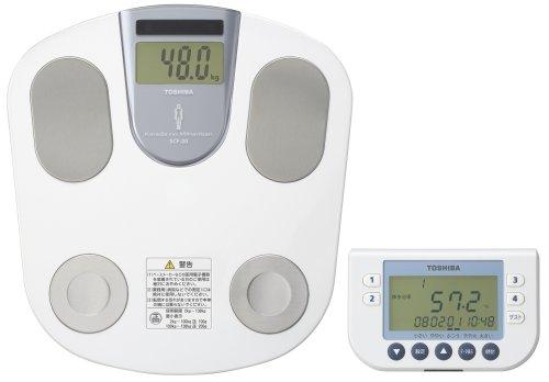 東芝 「手元パネル・データ管理CDソフト付き(Windows XP_Vista対応)」体重体組成計 SCF-20