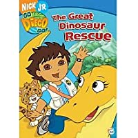 Go Diego Go!: The Great Dinosaur Rescue DVD