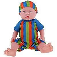 Baoblaze 抱き人形 ヌード 服付き 41cm 赤ちゃん人形 抱きドール ビニル製 新生児幼児 保育園おもちゃ 全8色 - #5