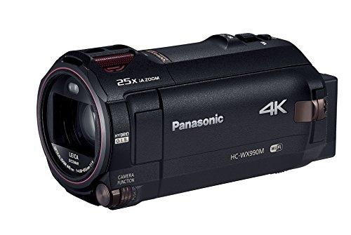 Panasonicデジタル4KビデオカメラWX990M64GBワイプ撮りあとから補正ブラックHC-WX990M-K