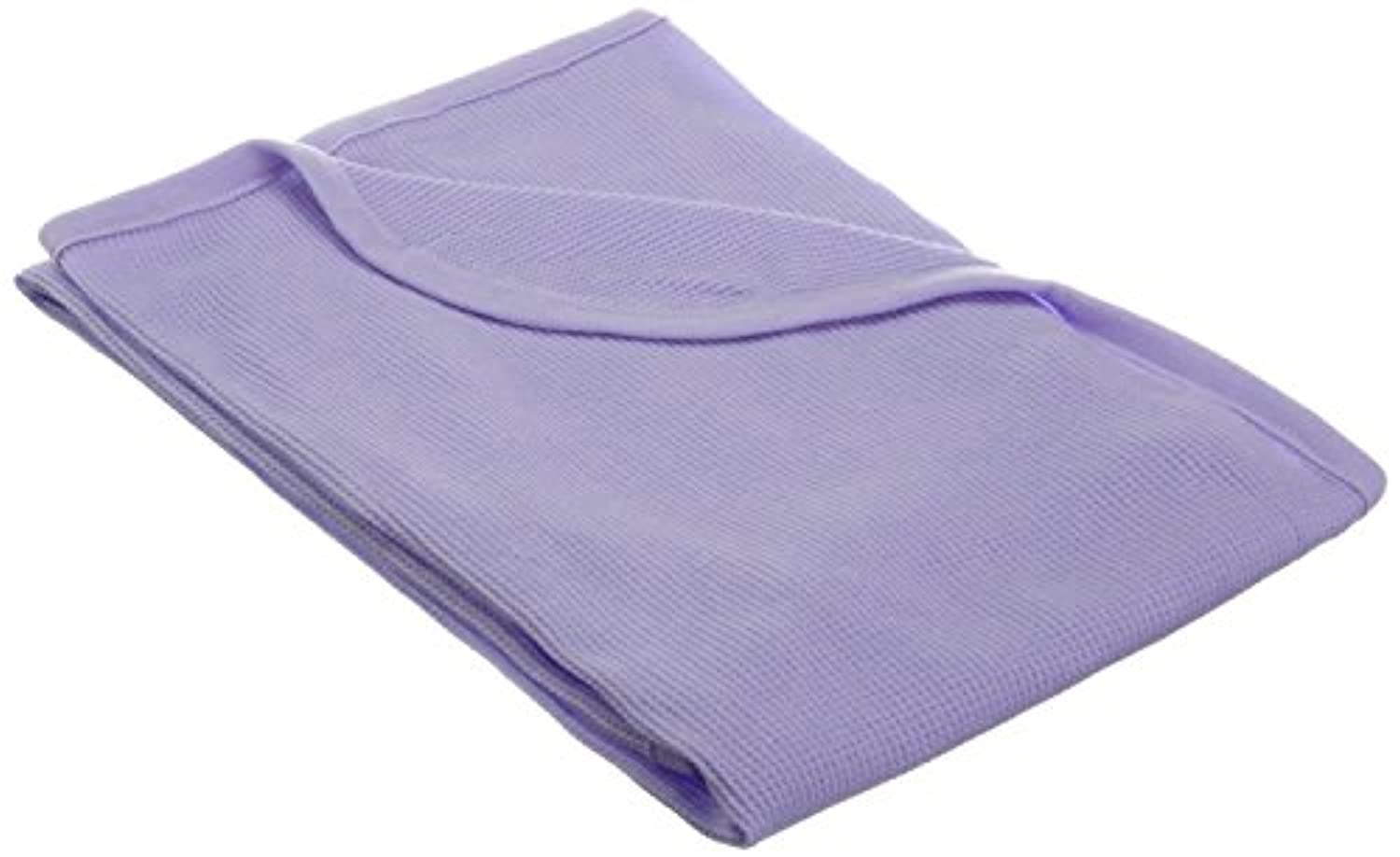 TL Care 100% Cotton Swaddle/Thermal Blanket, Lavender by TL Care