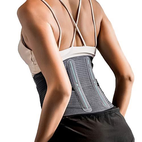AIRPOP 腰サポーター スポーツ サラリーマン 腰痛緩和 腰椎固定 姿勢矯正 腰 保護 サラリーマン用 スポーツ全般 日常生活 S-L (M)