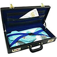 Masonic Regalia Half Case Mason Apron Hard Brief Case