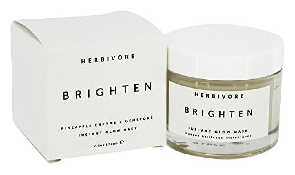 想像力安全不満HERBIVORE Brighten Pineapple + Gemstone Mask 68ml