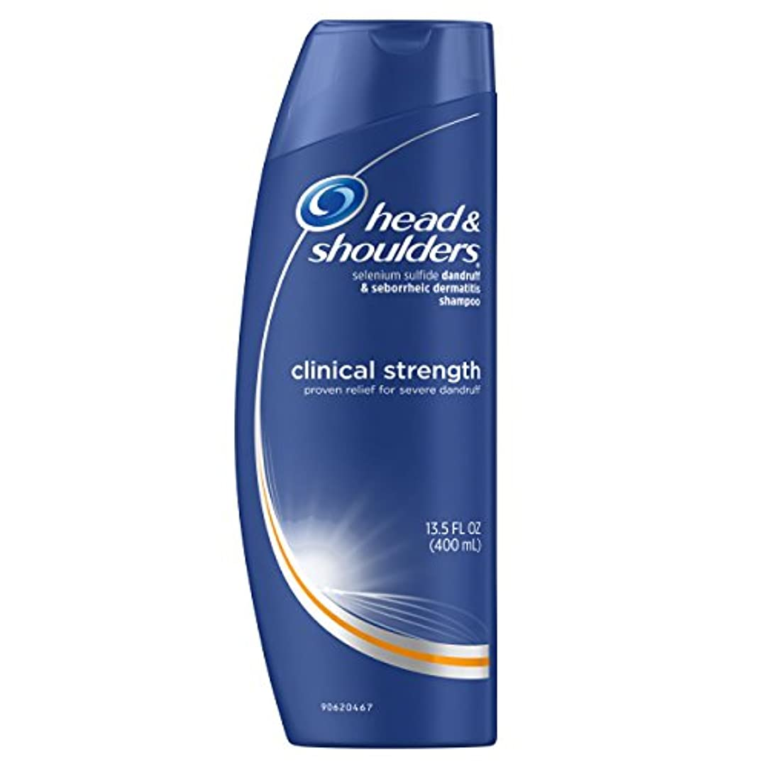 近代化君主バナーHead and Shoulders Clinical Strength Anti-Dandruff Shampoo 13.5 Fl Oz (Pack of 2)
