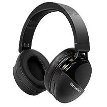 Beexcellent Bluetooth ヘッドホン 無線/有線 40H再生/30H通話 HiFi ステレオサウンド DJ/モニターヘッドホン Q7