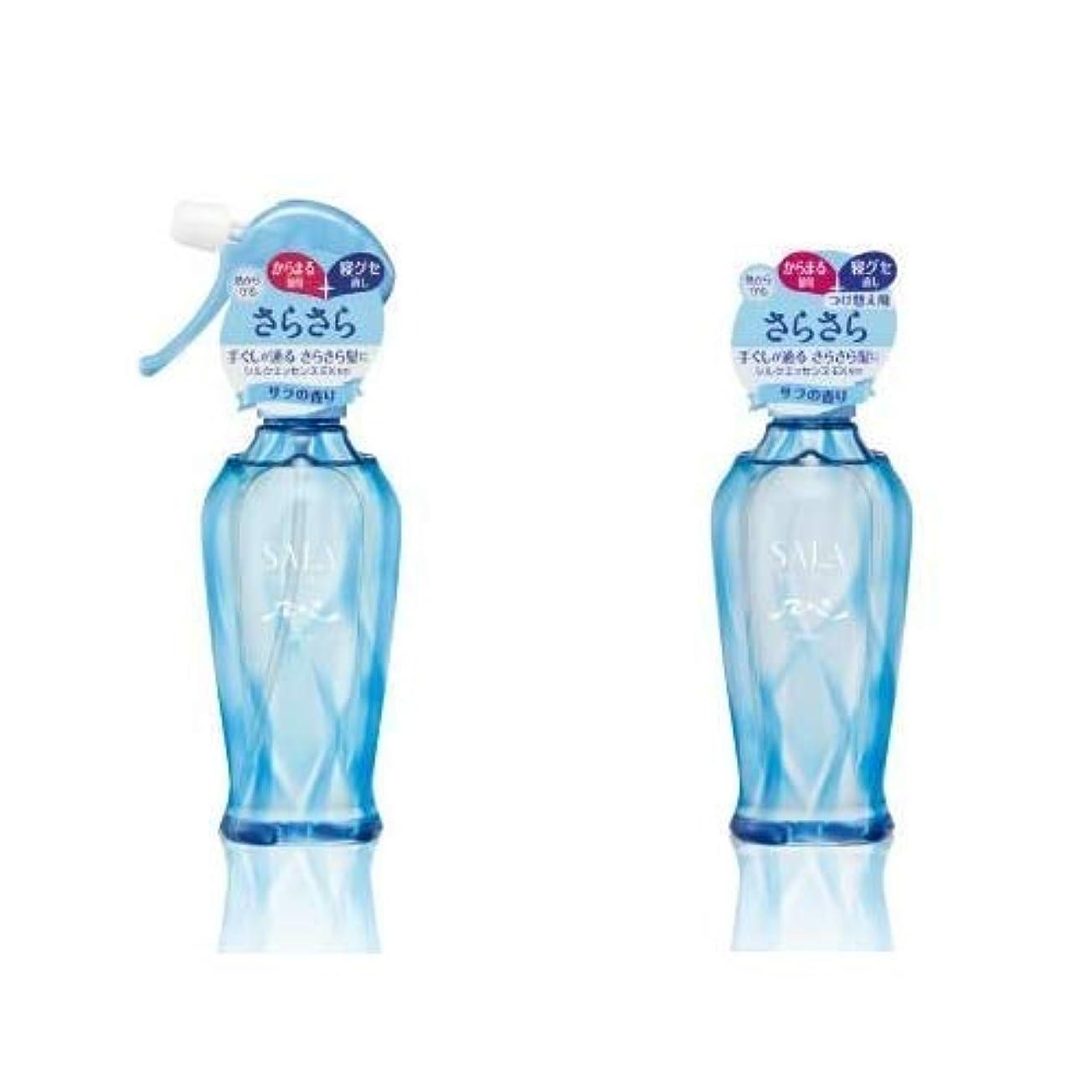 無し噴出するモデレータサラ さらさらサラ水 サラの香り 本体&つけ替え用セット