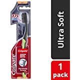 Colgate SlimSoft Charcoal Toothbrush Soft with charcoal infused bristles