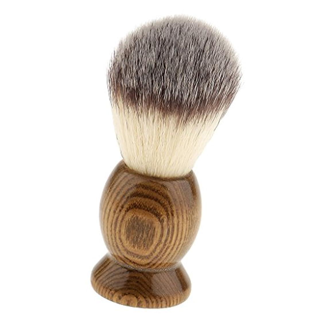 より軍団下位髭剃りブラシ メンズ シェービングブラシ 泡立ち サロン 家庭 父の日 プレゼント 全5種類 - 5