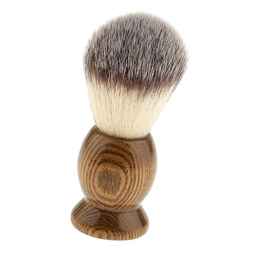 絶壁詩人空気chiwanji 髭剃りブラシ メンズ シェービングブラシ 泡立ち サロン 家庭 父の日 プレゼント 全5種類 - 5