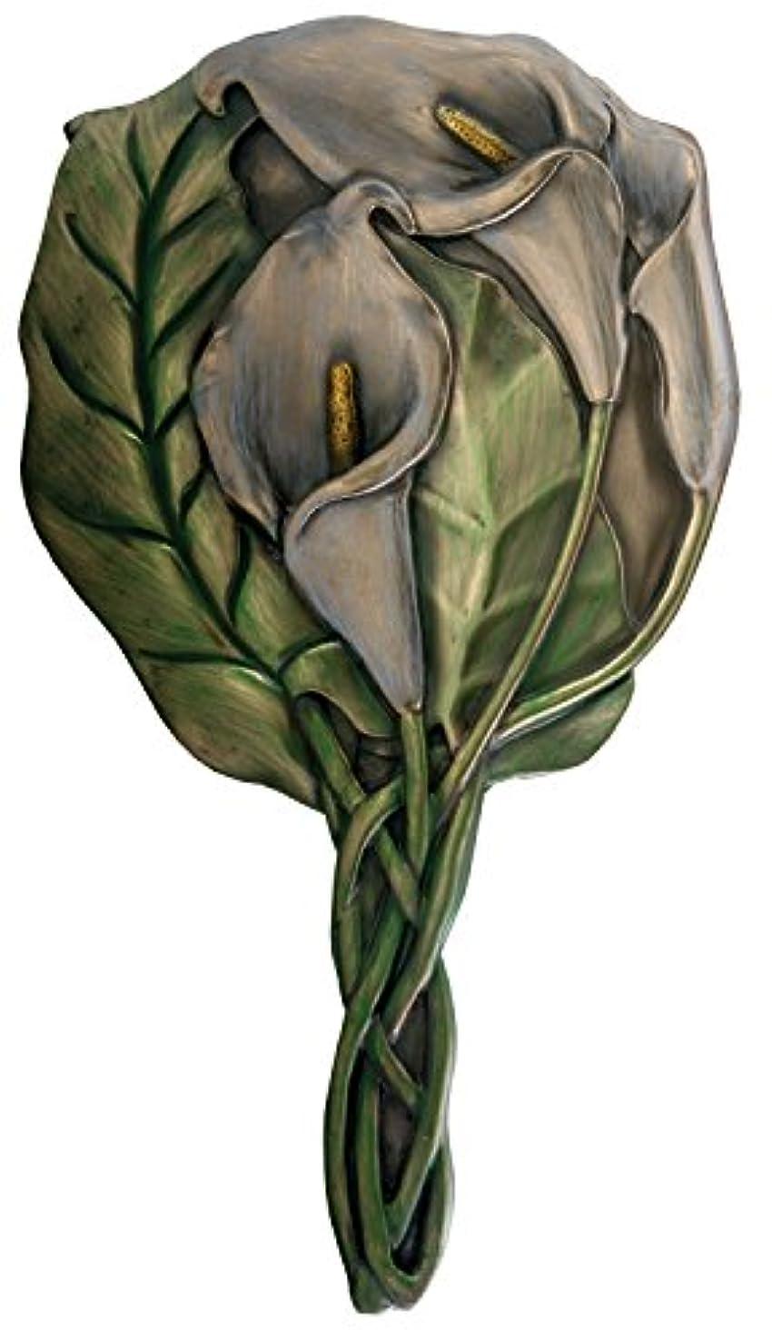 修正する花瓶小さなYTC SUMMIT 7768 Calla Lily Hand Mirror - C-16