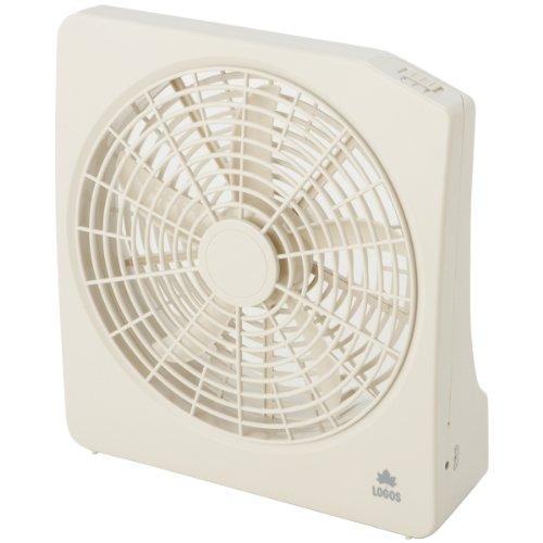 ロゴス 2電源・どこでも扇風機(AC・電池)