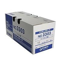 カモ井 シーリング用紙粘着テープ 15ミリ×18M 80巻入