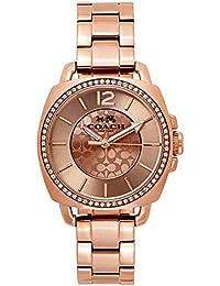 [コーチ]COACH ボーイフレンド レディース ローズゴールド シグネチャー クリスタル ブレスウォッチ 14503142 腕時計 [並行輸入品]