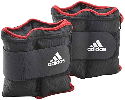 adidas(アディダス) トレーニング アジャスタブル・アンクル/リストウエイト プレート 2kg×2個 ADWT-12230