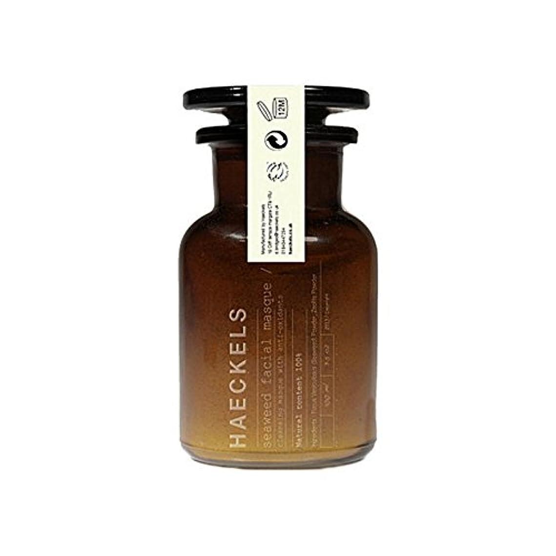 ハウスカーフアフリカ人海藻やミネラルフェイスマスク100ミリリットルを x4 - Haeckels Seaweed And Mineral Face Mask 100Ml (Pack of 4) [並行輸入品]