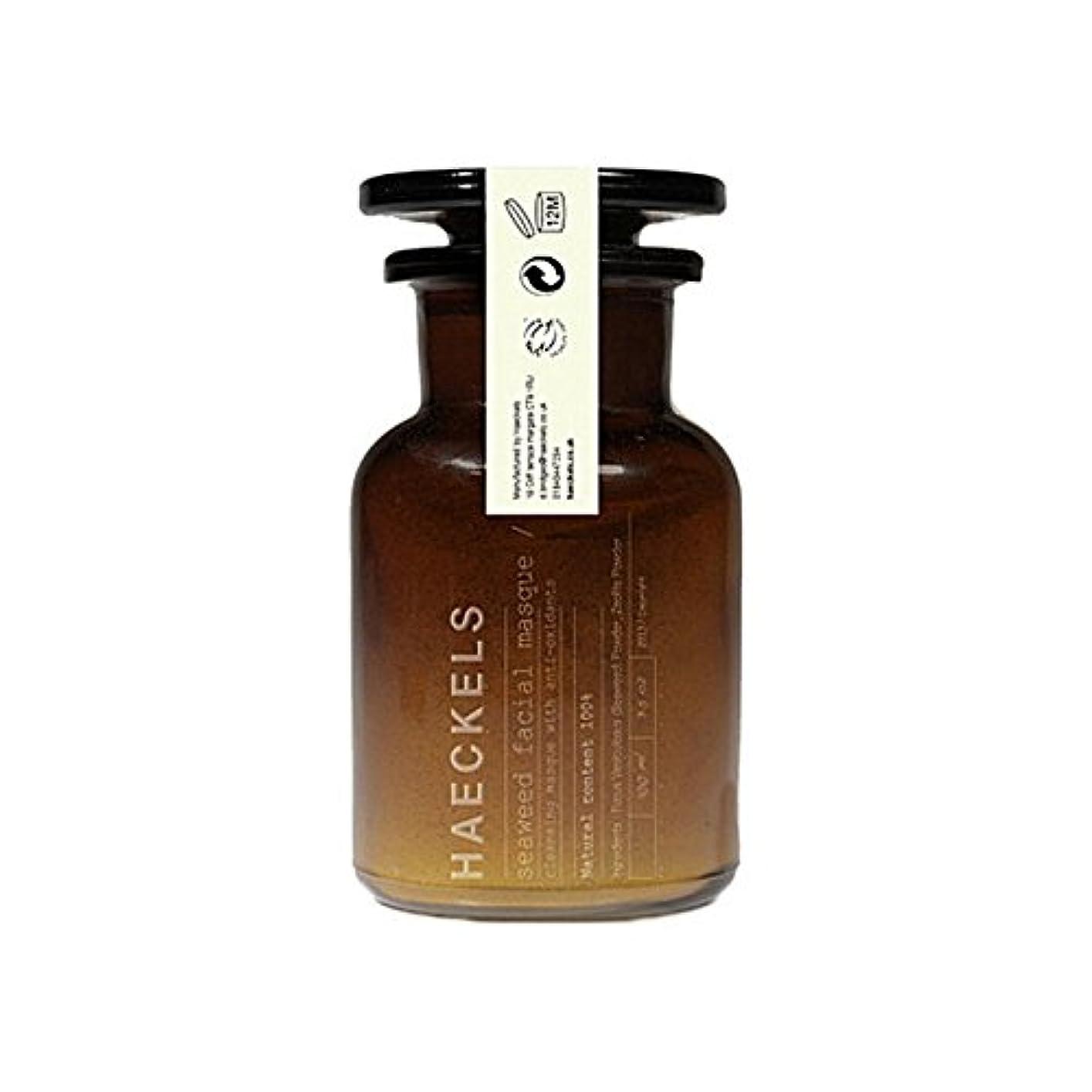 海藻やミネラルフェイスマスク100ミリリットルを x4 - Haeckels Seaweed And Mineral Face Mask 100Ml (Pack of 4) [並行輸入品]