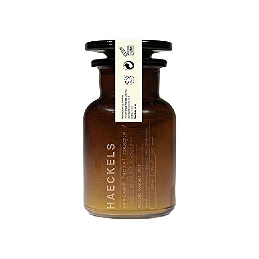 スポット特定のポテト海藻やミネラルフェイスマスク100ミリリットルを x2 - Haeckels Seaweed And Mineral Face Mask 100Ml (Pack of 2) [並行輸入品]