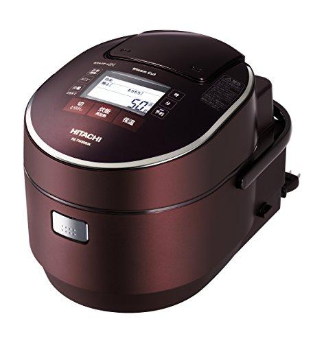 日立 炊飯器 圧力IHスチーム 打込み鉄釜 ふっくら御膳 5.5合 RZ-TW3000K XV