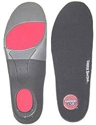 Shock Doctorカスタムサポートマルチ目的インソールランニングハイキングスケート、1ペア