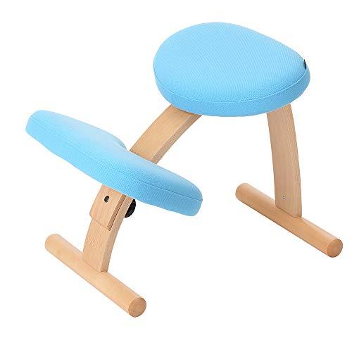 バランスチェア イージー ライトブルー 姿勢が良くなる椅子 学習椅子 姿勢 矯正 椅子 猫背