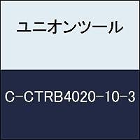 ユニオンツール 超硬エンドミル テーパボール R1×刃長10×片角1.3°CCTRB4020103