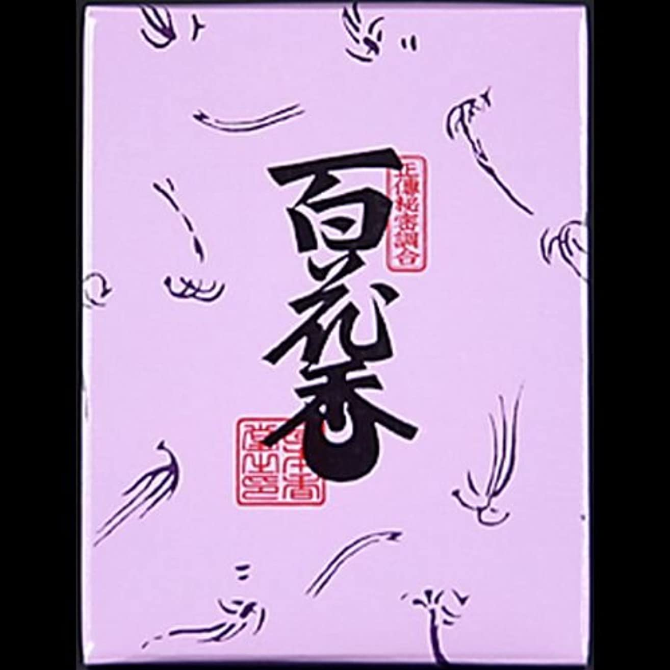一流外交問題ドレス【まとめ買い】日本香堂#723百花香紙箱3 ×2セット