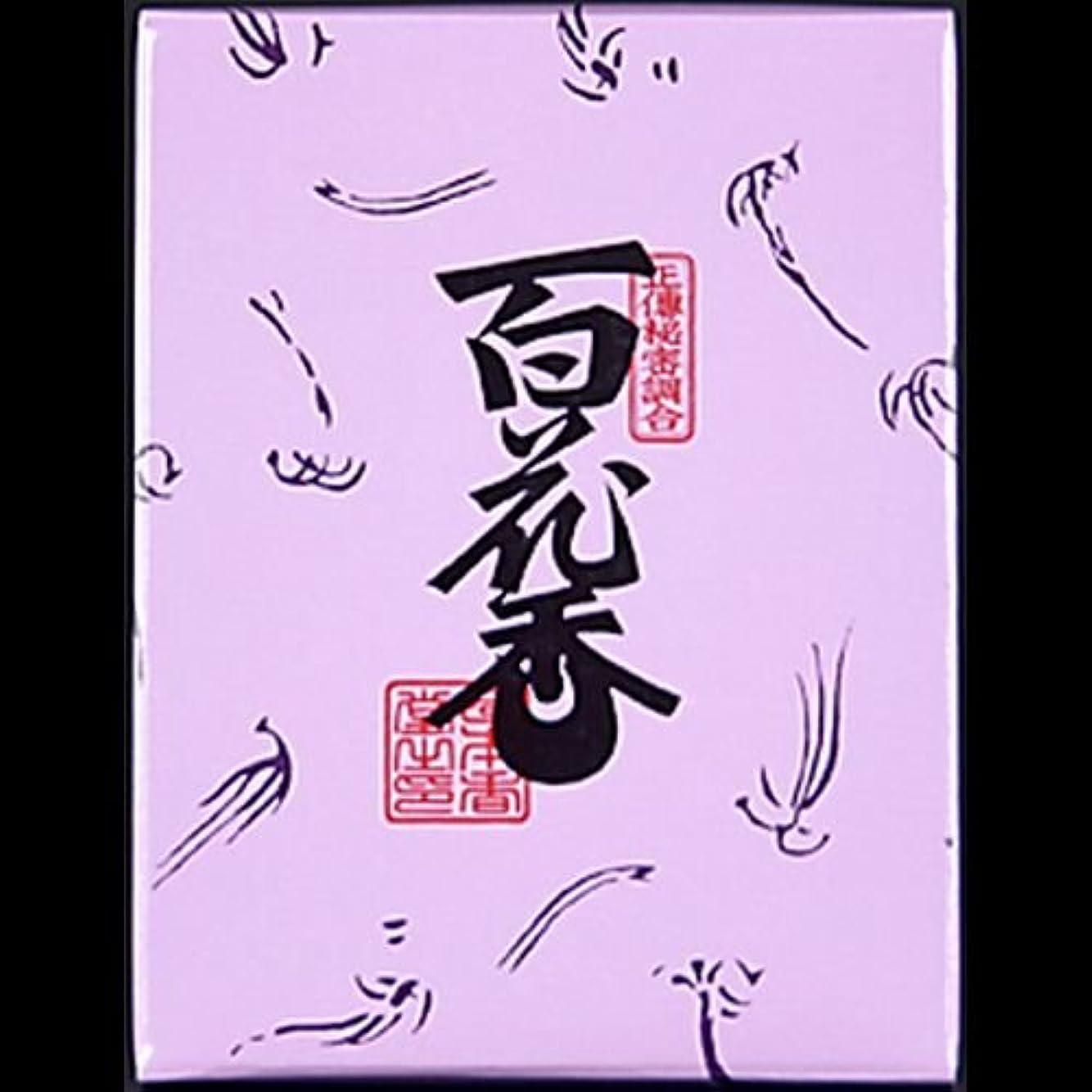 一口十分にシンカン【まとめ買い】日本香堂#723百花香紙箱3 ×2セット
