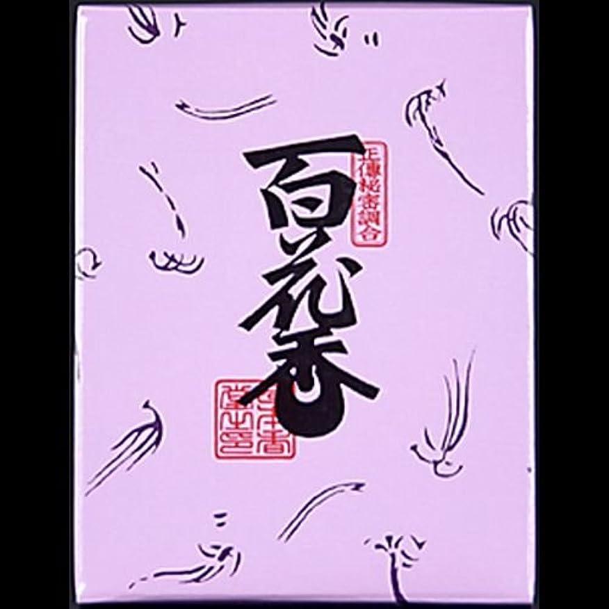 何よりも嵐のより多い【まとめ買い】日本香堂#723百花香紙箱3 ×2セット