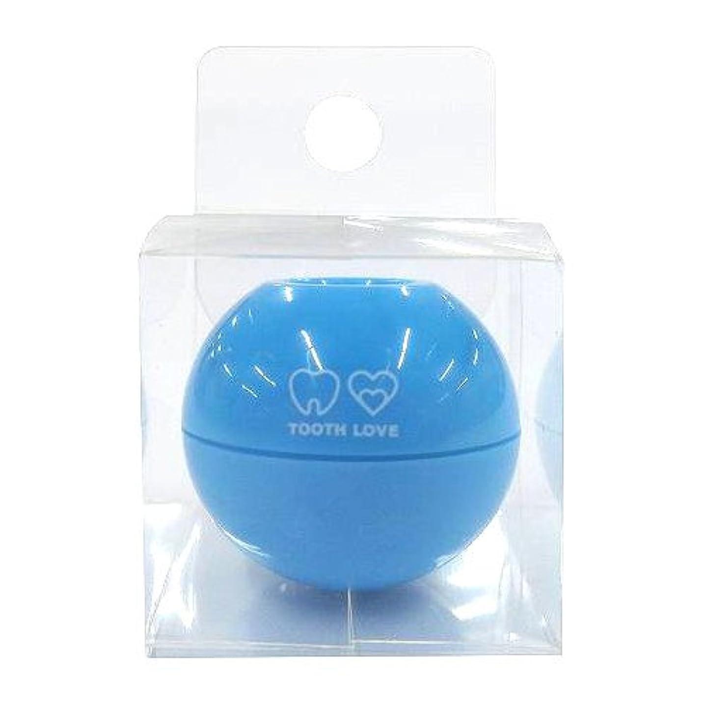 順番月面セットするTOOTH LOVE BALL ホルダー (歯間ブラシホルダー) ブルー