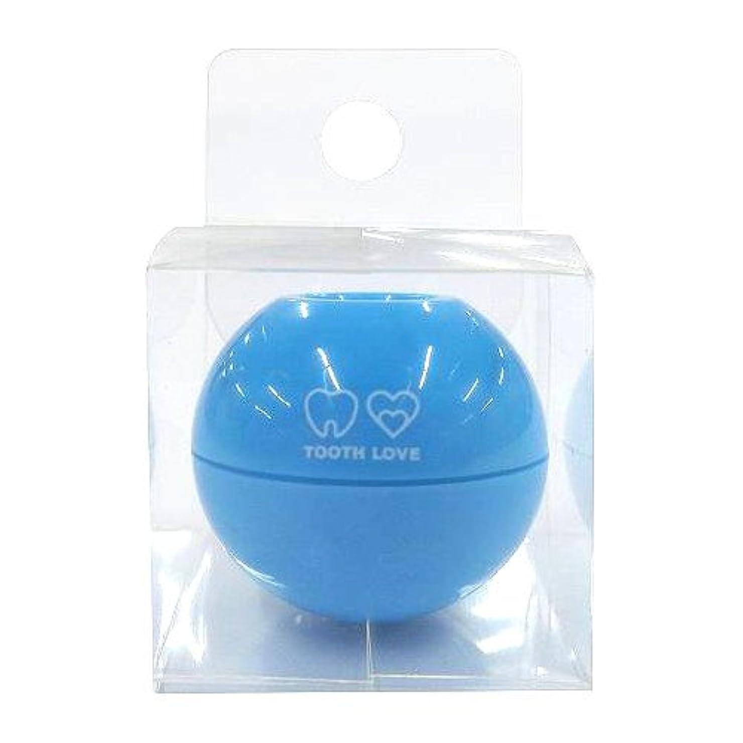 まともな実装するマナーTOOTH LOVE BALL ホルダー (歯間ブラシホルダー) ブルー