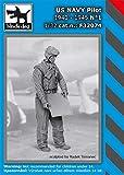 ブラックドッグ 1/32 アメリカ海軍 パイロット 1940年~1945年 No.1 レジンキット HAUF32074