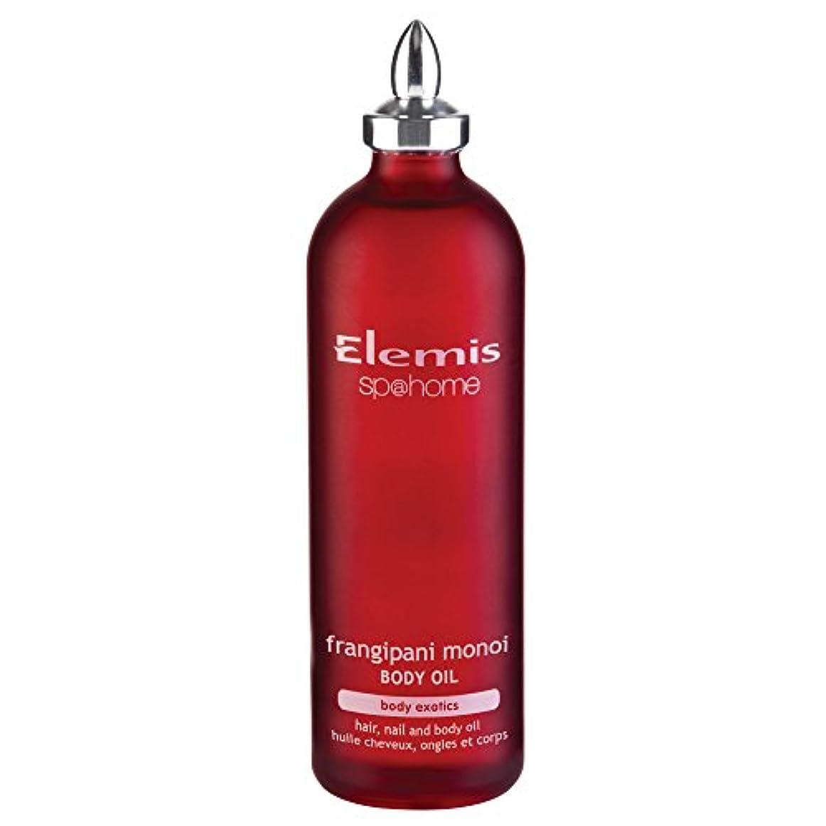 粘り強いナラーバー一致するエレミスプルメリアモノイボディオイル100ミリリットル (Elemis) (x6) - Elemis Frangipani Monoi Body Oil 100ml (Pack of 6) [並行輸入品]