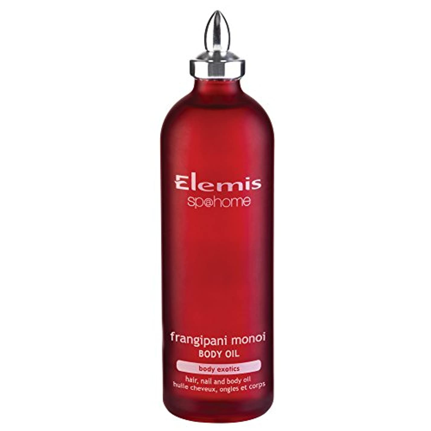 せっかち抜け目がないシャックルエレミスプルメリアモノイボディオイル100ミリリットル (Elemis) (x2) - Elemis Frangipani Monoi Body Oil 100ml (Pack of 2) [並行輸入品]
