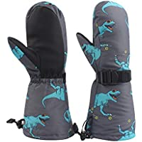 Winter Kids Waterproof Gloves for Boys Girls Snow Ski Toddler Baby Mittens Outdoor for Infant Teens 1-5T
