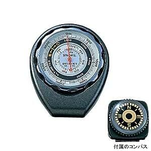 SPALDING(スポルディング) 気圧・高度計 コンパス付き ブラック 620 4688-05