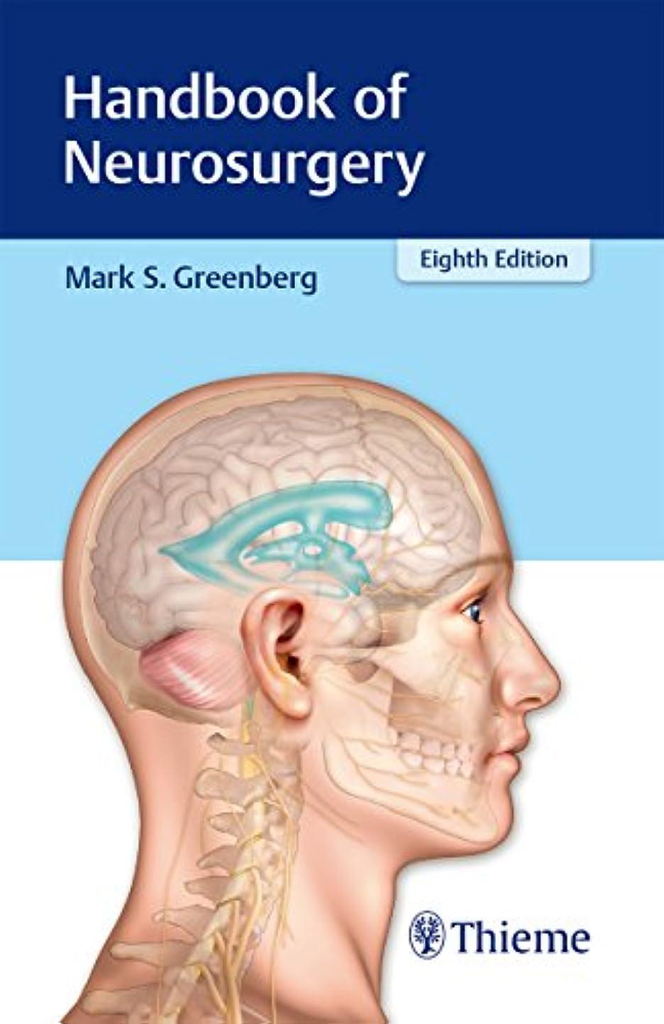 けがをする多くの危険がある状況影のあるHandbook of Neurosurgery (English Edition)