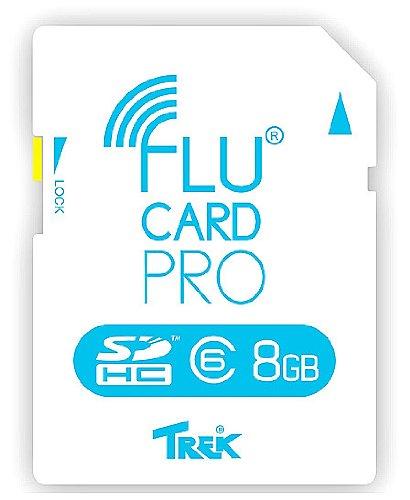 Trek 2000 デジタルカメラ対応Wi-Fi機能付きSDカード 8GB Flucard8